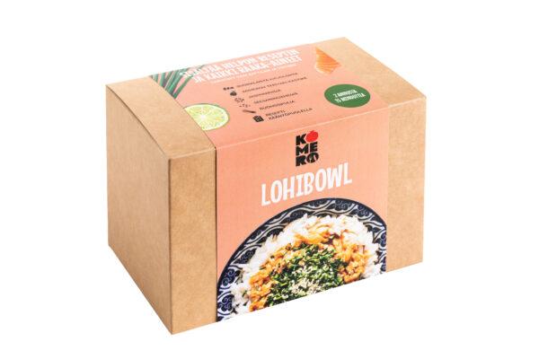Lohibowl-ateriaboksi